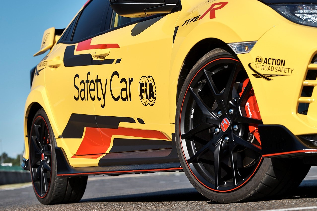 Honda Civic Type R Limited Edition is the 2020 WTCR Official SafetyCar